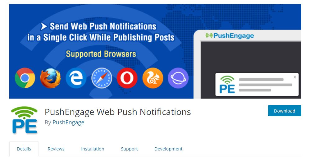 pushengage-plugin