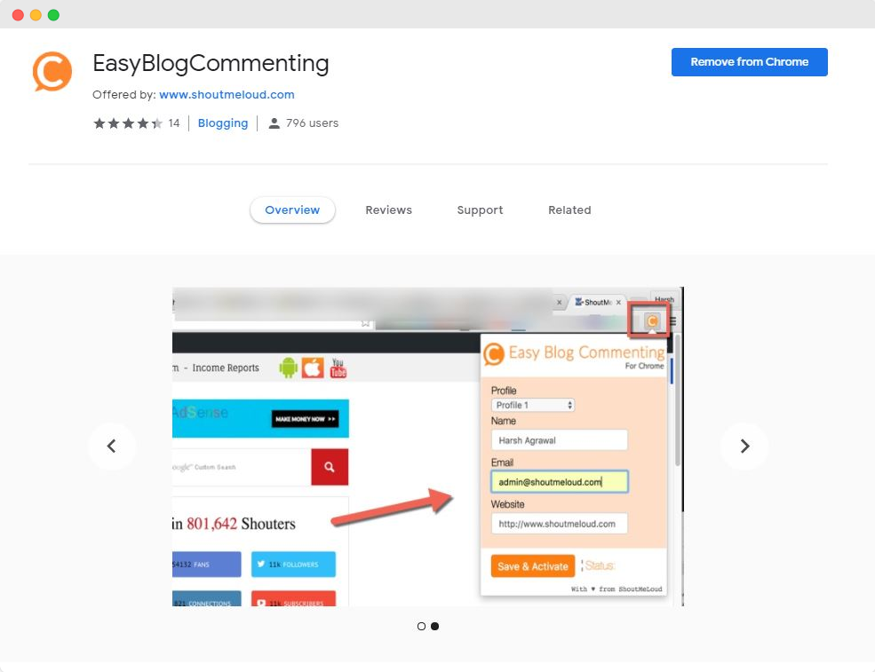 Easy Blog Commenting